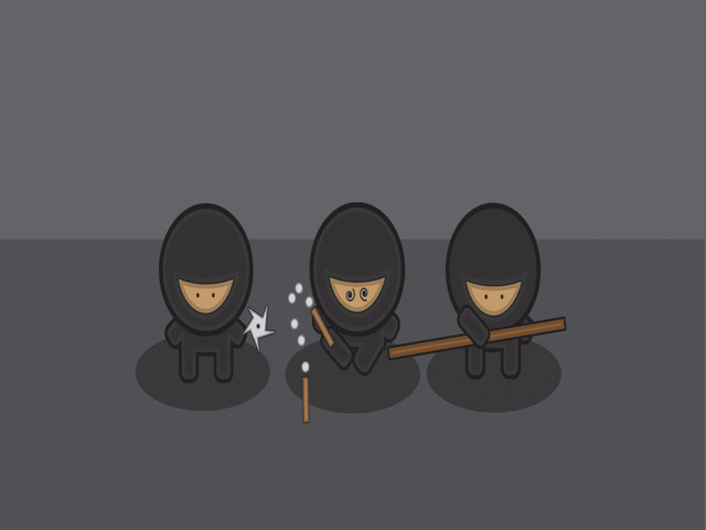 Three Little Ninjas