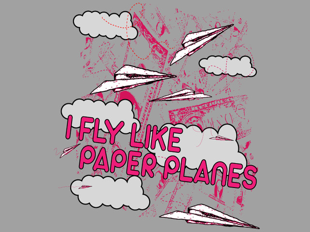 We fly like paper planes