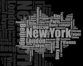 Tag Clouds of New York by dreamerbox
