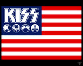 KISSNATION FLAG by theNEWgod