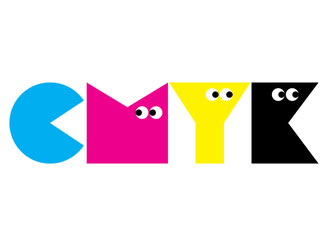 CMYK Monsters by Kim_Mak
