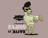 Elvis is 'alive' by Naolito