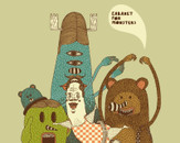 cabaret for monsters by flambi
