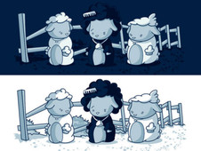 Black Sheep T-Shirt Design by