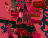 teenage crime wave by stinkel