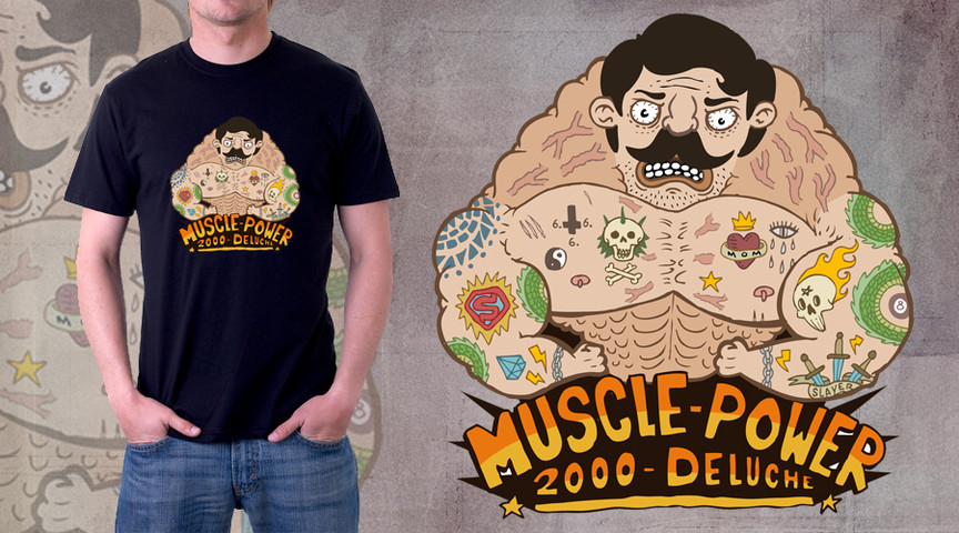 Muscle Power 2000 Deluche