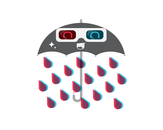 I'm only happy when it rains in 3D! by thefelon
