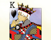 Black King Of Hearts by Tazzy