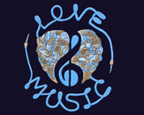 Love Music Blue by sweatyeskimo