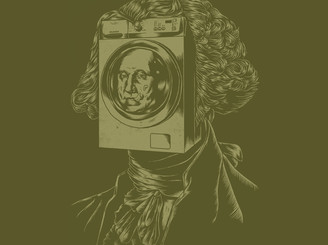 George WASHINGton Machine by polynothing