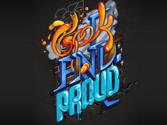 Geek'N'Proud by thinkmax