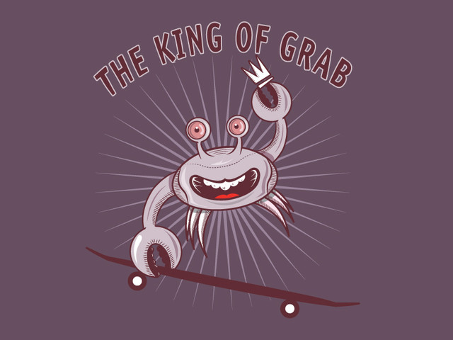 crab the king of grab