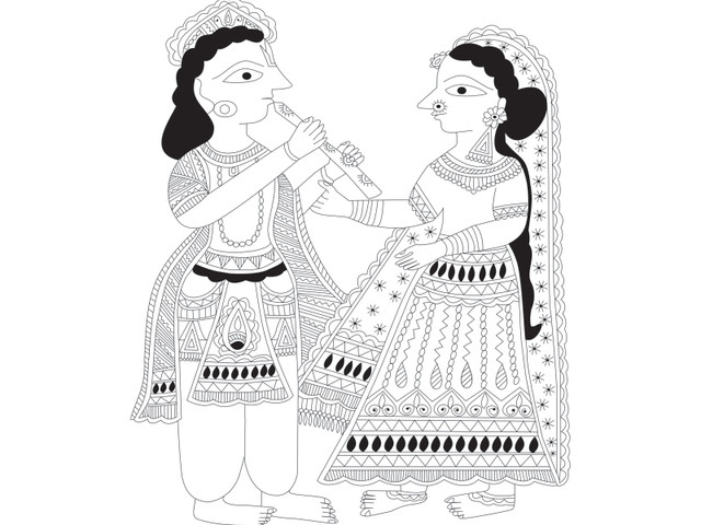 god Radha and krishna