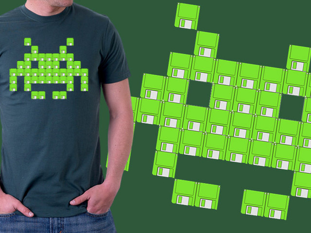 Floppy Invaders