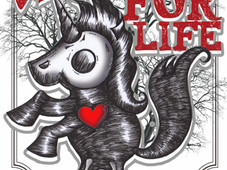 UNICORNS FOR LIFE T-Shirt Design by