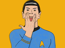 G-Spock T-Shirt Design by