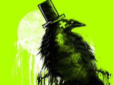 nevermore grunged T-Shirt Design by