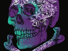 Tattooed skull T-Shirt Design by