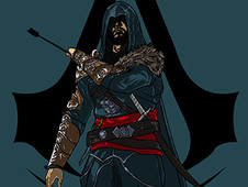 Ezio Revelations T-Shirt Design by