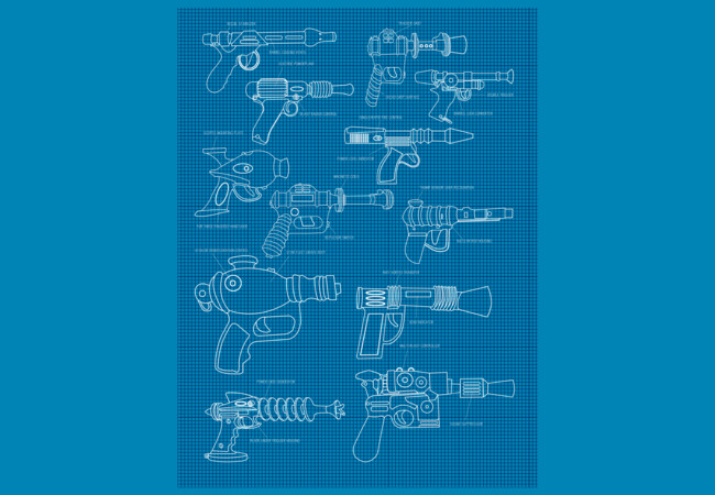 The Blaster Plan  Artwork