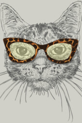 Cat's Eye Sunglasses T-Shirt