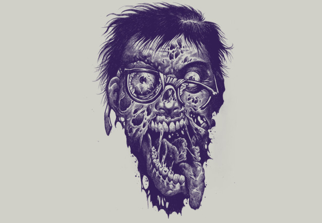 Geek Zombie  Artwork