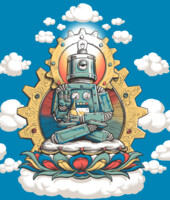 Mr. Ohmz - Buddha Bot V6 T-Shirt
