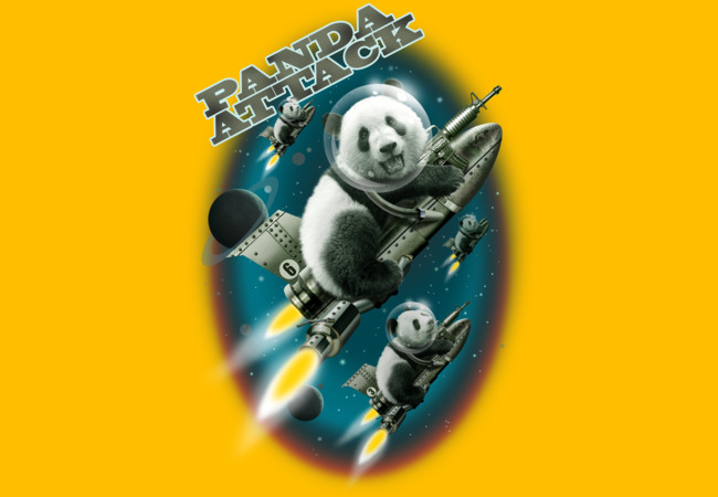 PANDA ATTACK  Artwork