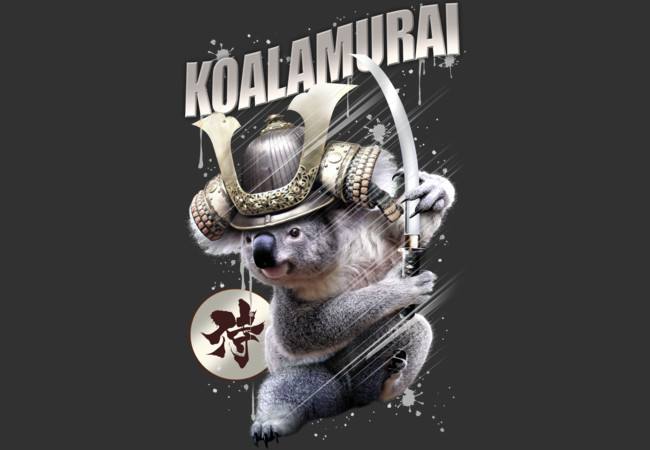 THE RISE OF KOALAMURAI  Artwork