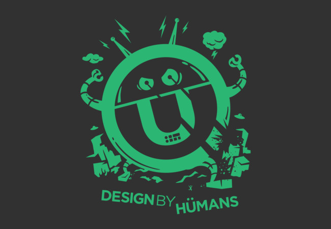 DBH Artist Series Robot Logo - Green Edition  Artwork