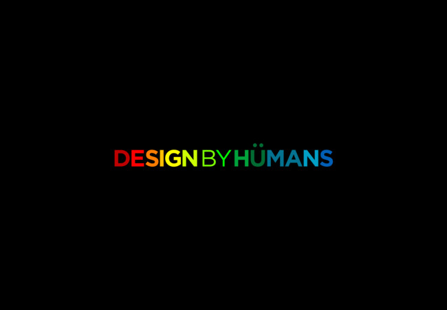 Design By Humans - Multicolored Awesome  Artwork
