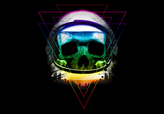 Astro Neon Oddity  Artwork