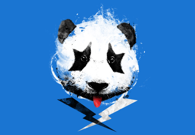 Panda Rock!  Artwork