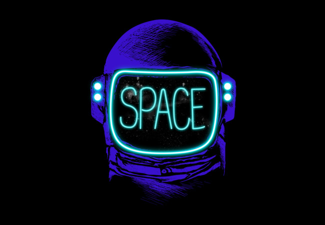 SPACE NEON  Artwork