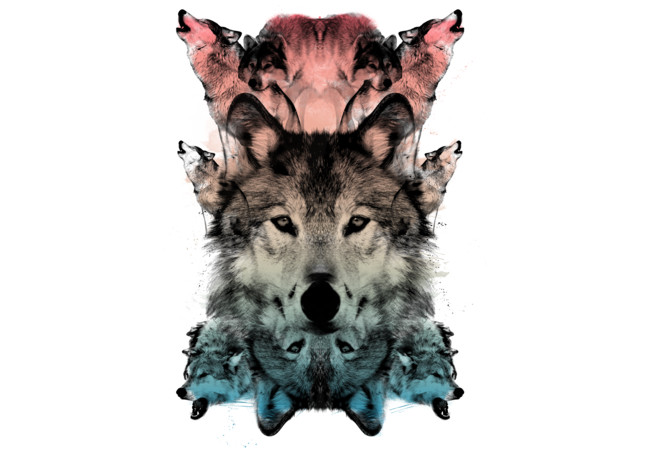 THE WOLF  Artwork