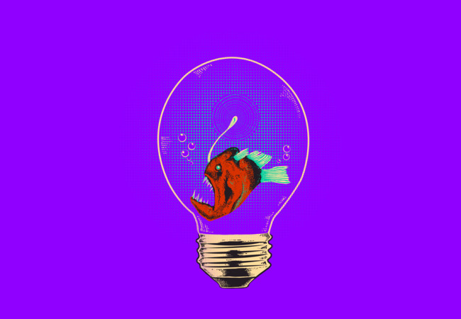 Anglerfish bulb  Artwork