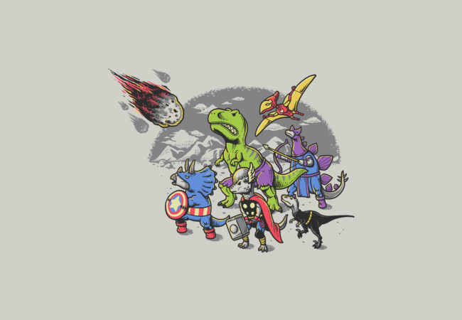 Dinosaur Avengers  Artwork