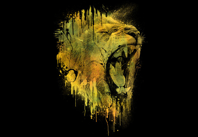LION DRIP  Artwork