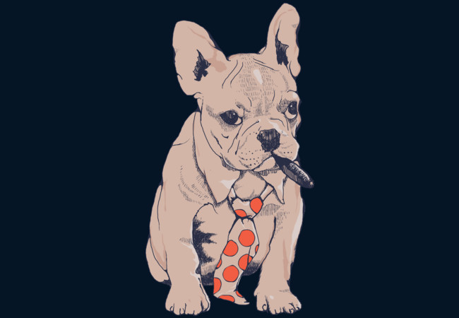French Bulldog Boss  Artwork