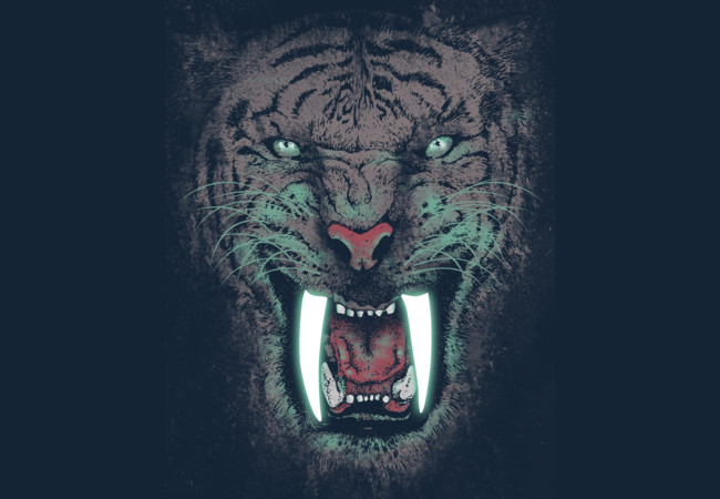 Saber Tooth Tiger  Artwork