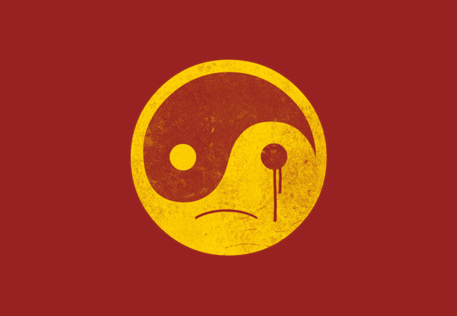 sad yin yang  Artwork