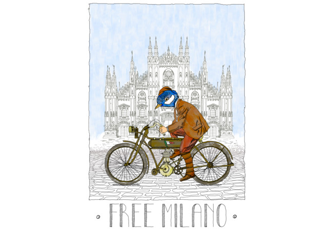 FREE MILANO  Artwork