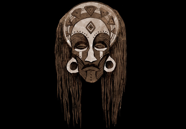 African Mask  Artwork