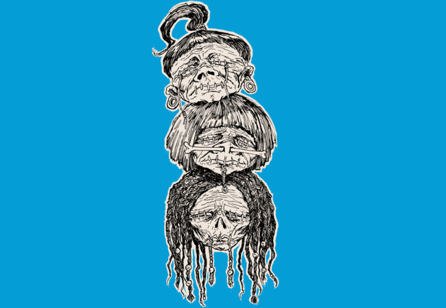 Shrunken Heads  Artwork