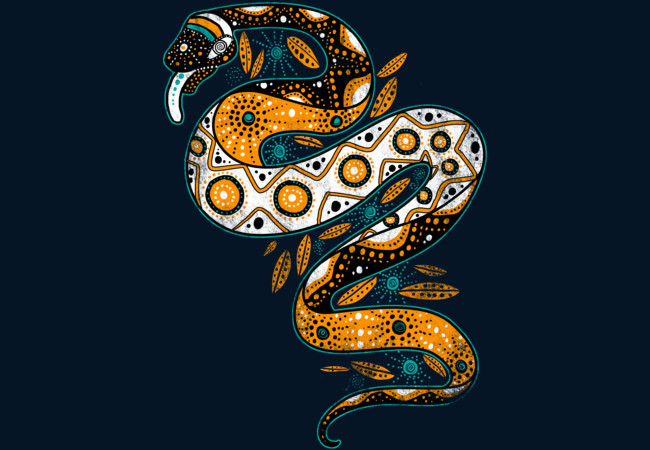 Rainbow Serpent  Artwork