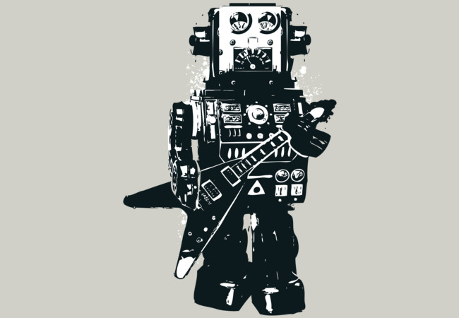 Robot Rocks  Artwork