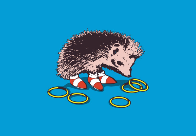 The hedgehog  Artwork