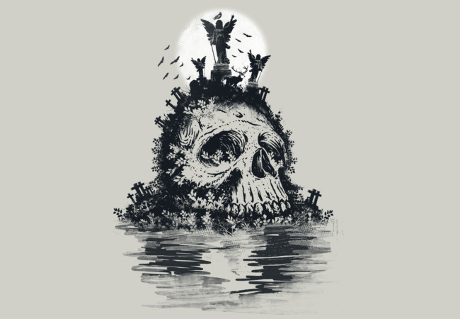 Island of the dead  Artwork