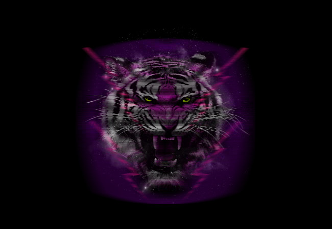 Techno-tiger  Artwork