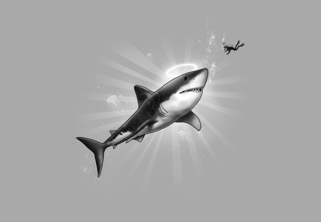 Holy Shark!  Artwork